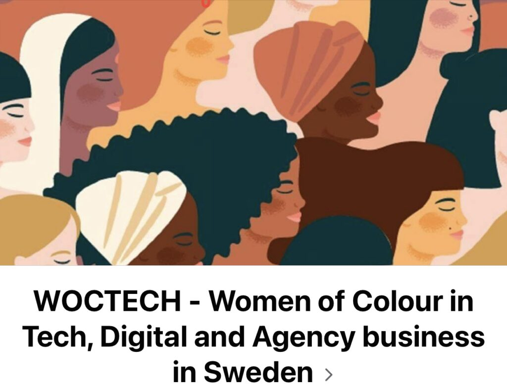 WOCTECH - Women of Colour in Tech, Digital and Agency Business in Sweden